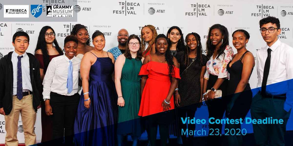 Our 2020 #SpeakTruth Video Contest submission portal is now open until March 23! Our winners will premiere their films at the @Tribeca Film Festival! Learn more about the guidelines and submit your film today! bit.ly/2VtnEHs