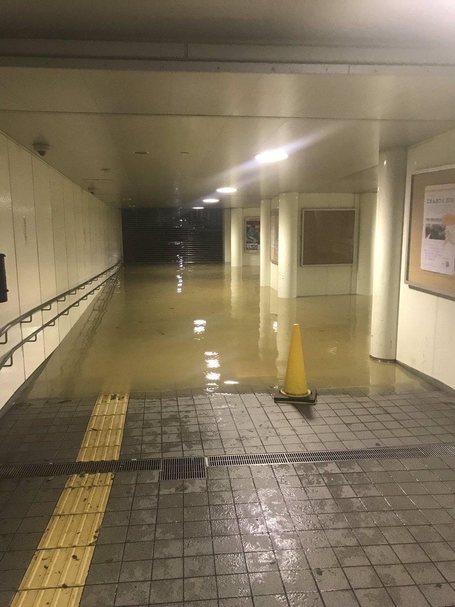 武蔵 小杉 冠水
