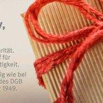 Image for the Tweet beginning: 70 Jahre #DGB. 70 Jahre