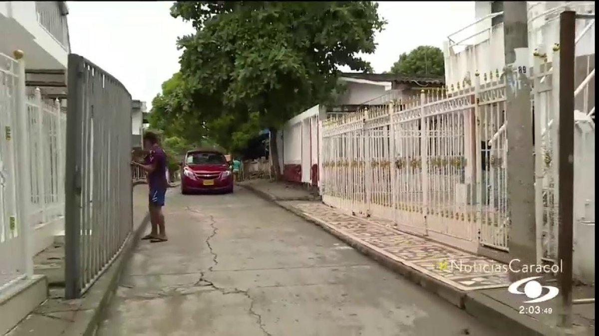 Una reja, la increíble 'manzana de la discordia' entre dos comunidades en Cartagena http://noticiascaracol.com
