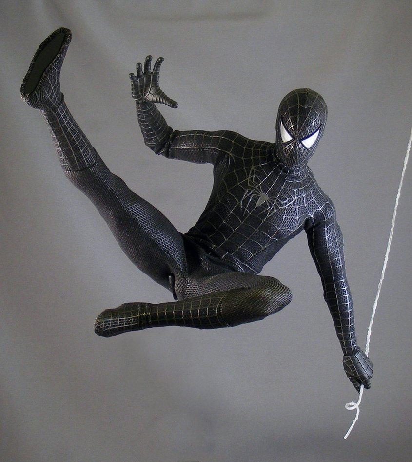 человек паук черный картинки игрушки загрузки картинок появляется