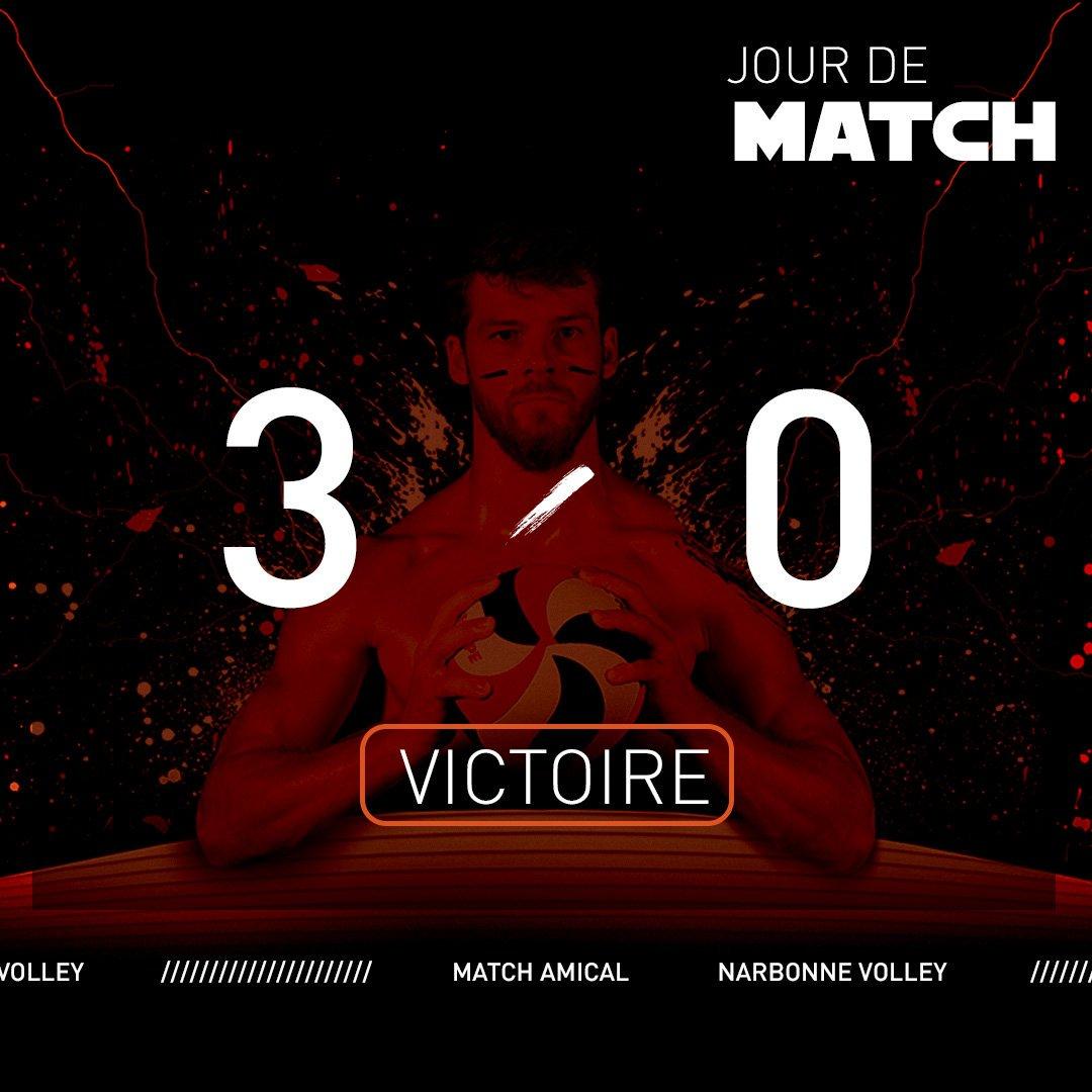 Belle victoire des Centurions contre @GFCAVolleyBall 3-0) 25-17, 25-19, 25-22)...