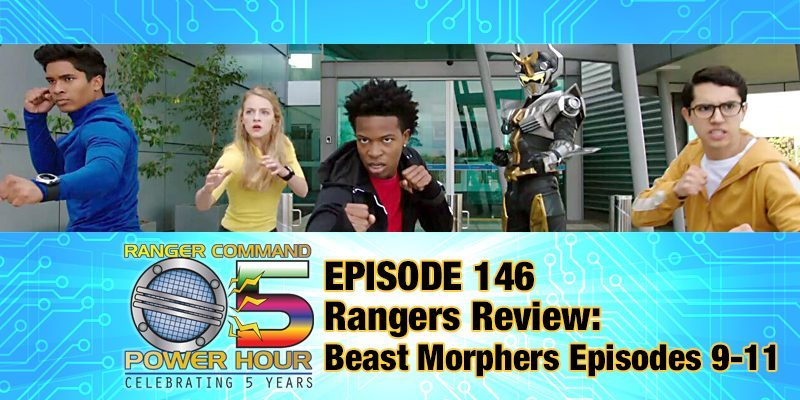 NEW EPISODE! #PowerRangers #BeastMorphers is BACK (in the U.S.) as we review episodes 9 through 11. We also discuss the latest news and read your Answers from #RangerNation. #podcast #PodernFamily  http:// rangercommand.com/ranger-command -power-hour-episode-146/  … <br>http://pic.twitter.com/XOC1iGAHfq