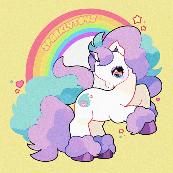 🌈My Little Ponyta (G3 style)!💖✨ #PokemonSwordShield #GalarianPonyta