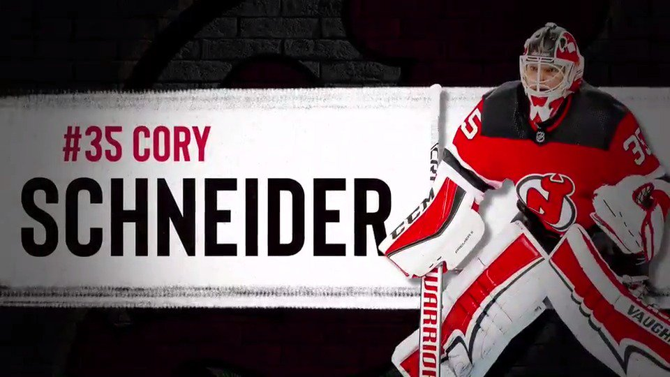 Today's starting goaltender matchup presented by @RWJBarnabas:  #NJDevils Cory Schneider (0-2-0) vs. Florida's Sergei Bobrovsky (1-2-1)