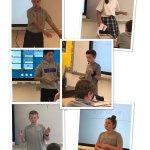 Image for the Tweet beginning: Great debate 7th grade style!