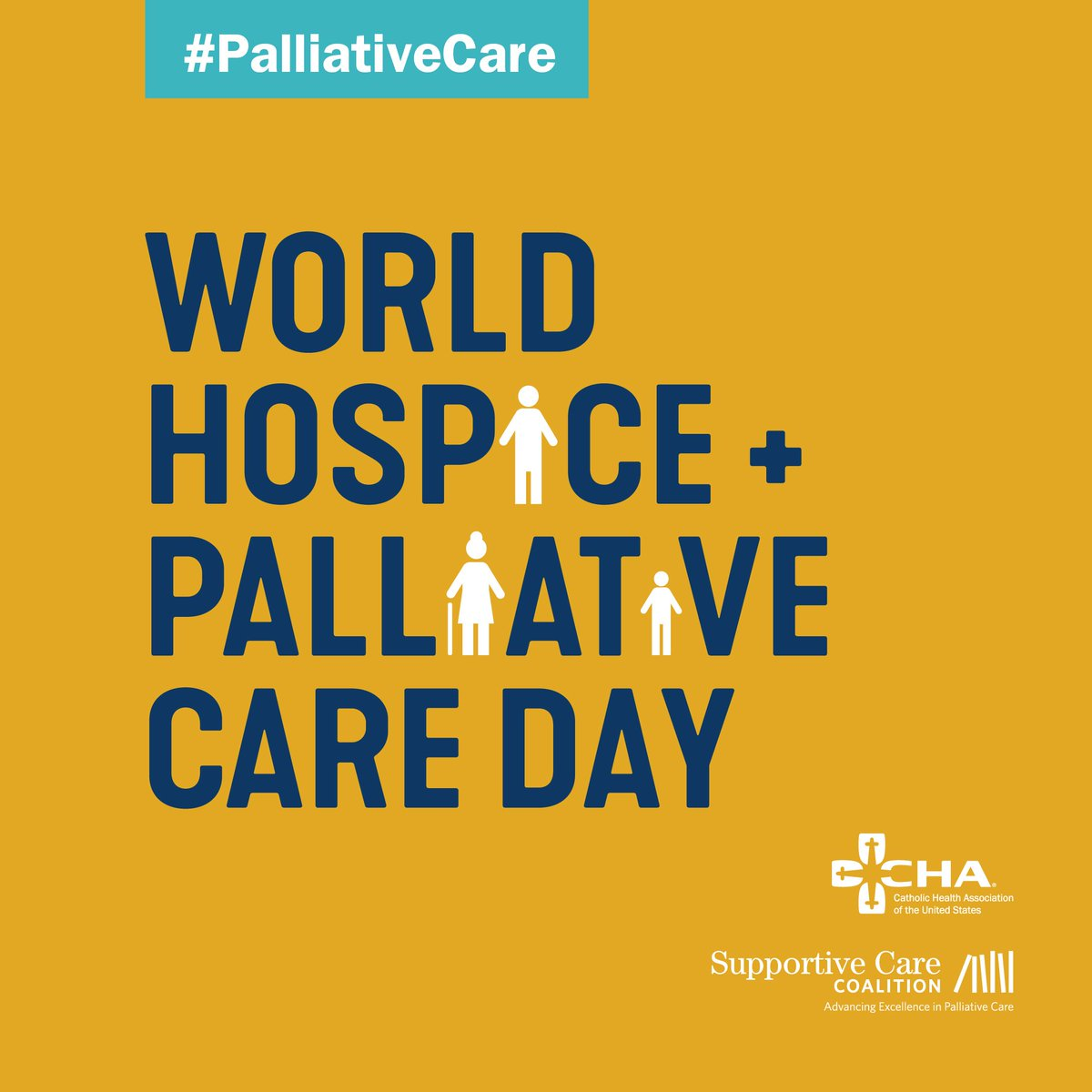 TODAY (Oct. 12) is World Hospice and Palliative Care Day. In addition, November is National Hospice & Palliative Care Month. CHA and @SCCpallcare have partnered to produce informational & inspirational resources http://ow.ly/VqoH30m8Wse #PalliativeCare #WHPCDay19