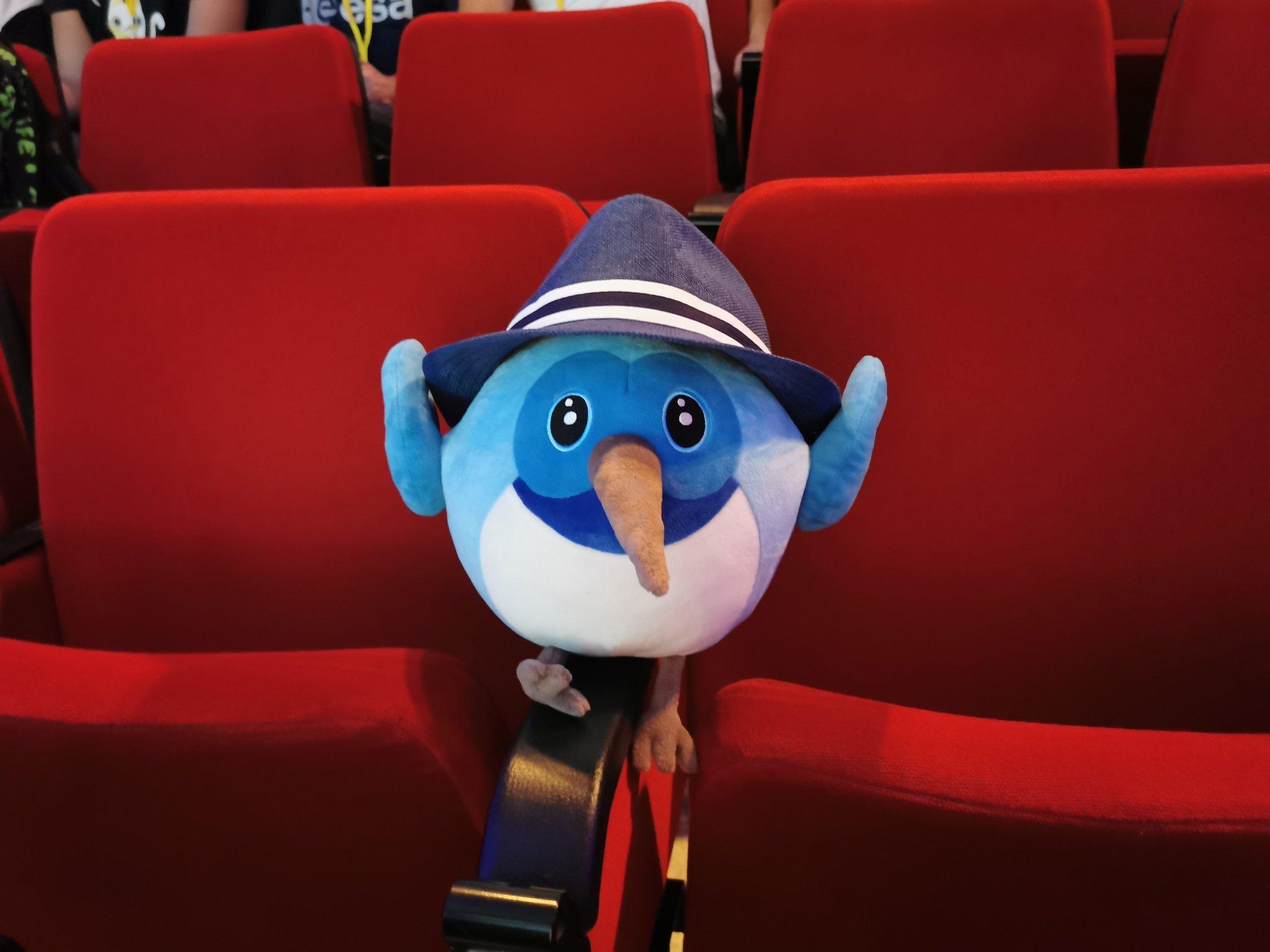 HatReload, FlutterExp Mascot (Dash with hat)