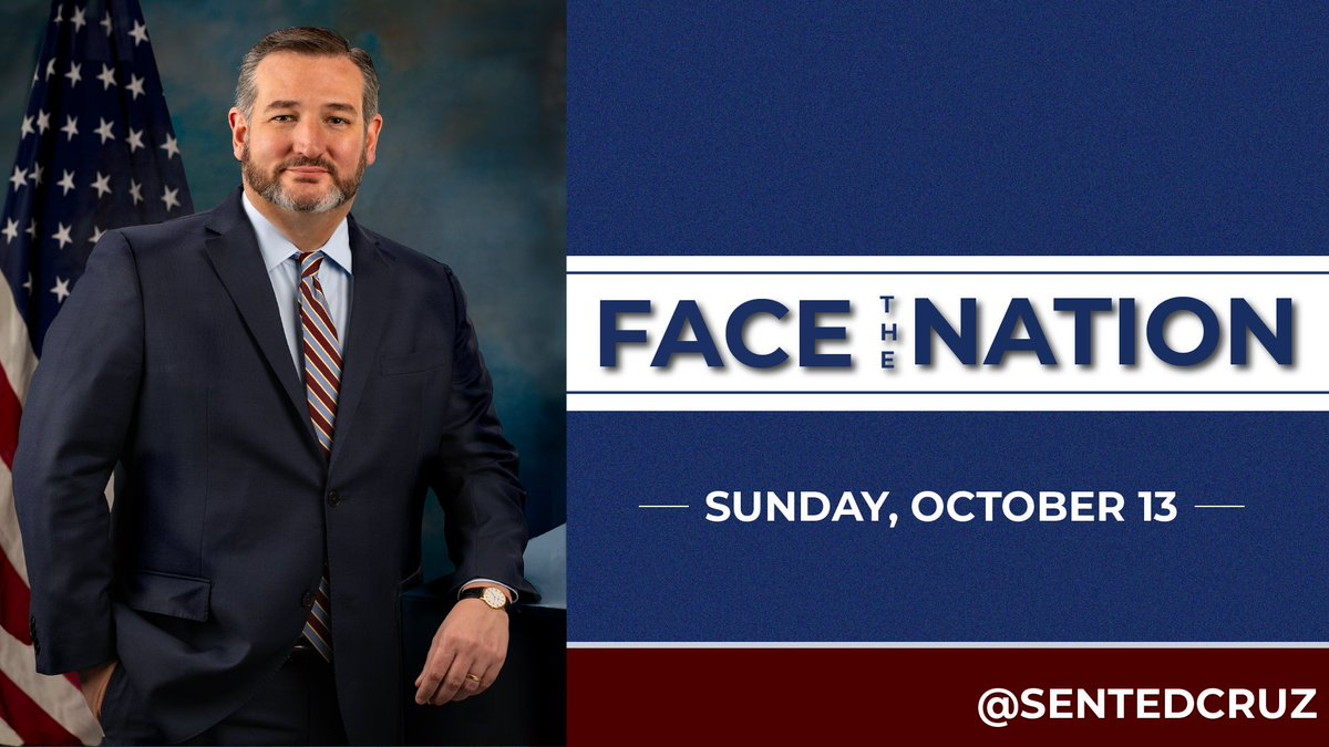 Hope y'all tune in to @FaceTheNation Sunday at ~9:30am CT to watch my interview with @margbrennan. I'll be talking about my Indo-Pacific friends & allies tour, the @NBA, China & more.