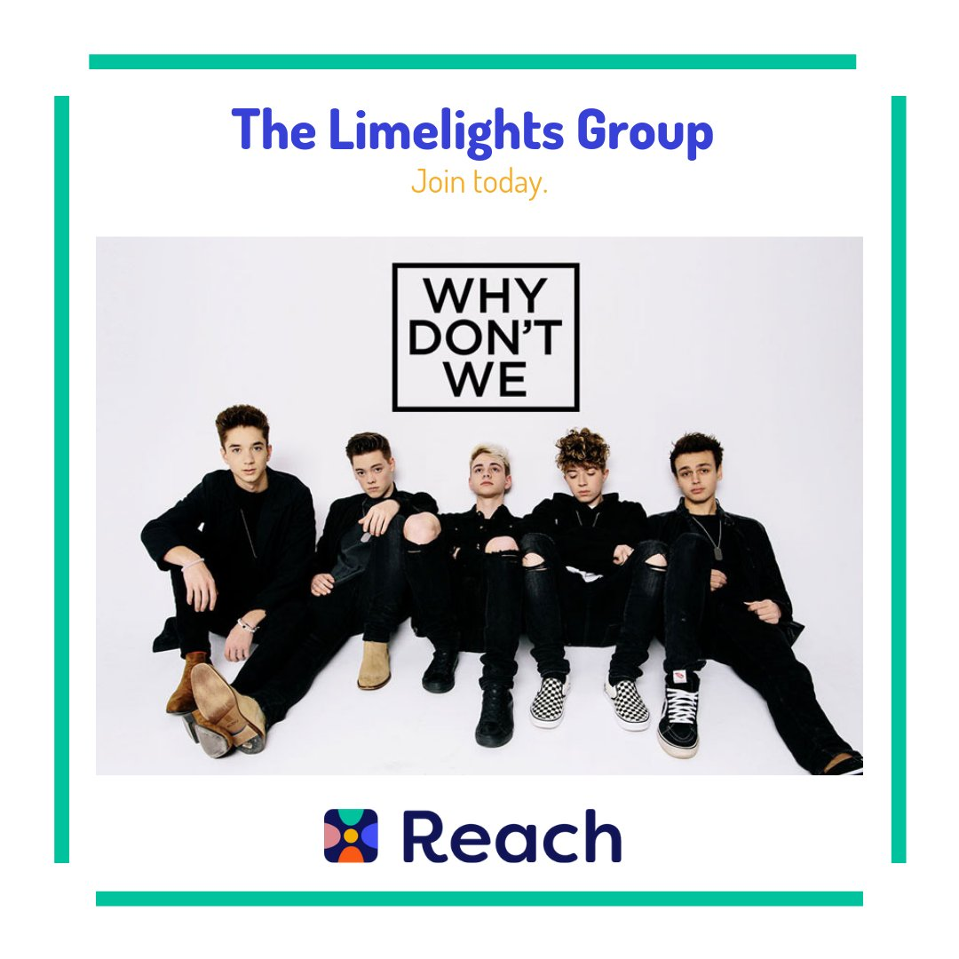 Calling all #limelights ...Come join the Limelights Group on Reach to keep up with your favorite boy band #Reach #IBF #ReachYourIBFs #IBFgoals #InternetBestFriendspic.twitter.com/7uA5dQzrUD