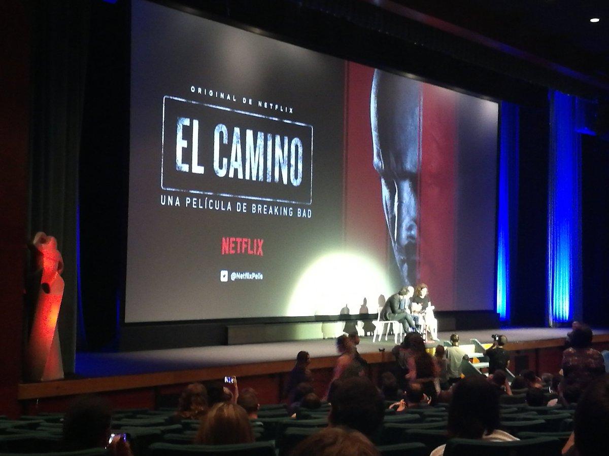 """El Camino"" A Breaking bad movie. A #SitgesFilmFestival"