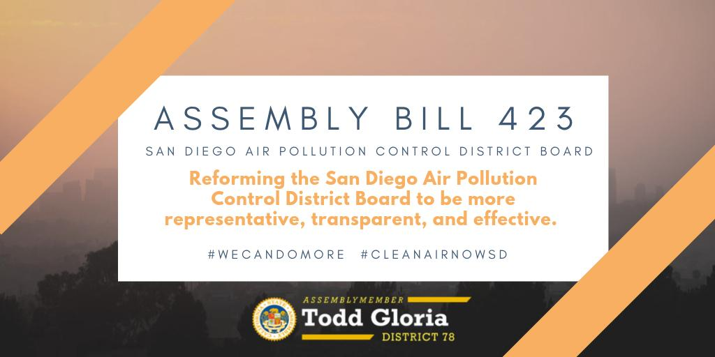 Yes! Time to clean the air and reach a fossil free/zero emission future! Thanks, Assemblymember!