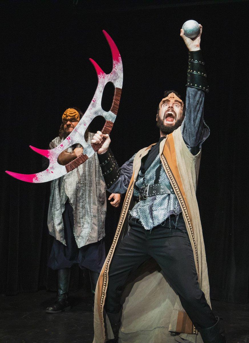 KLINGON TAMBURLAINE opens tonight at 8pm.  Tix here or at Box Office:  https:// klingontamburlaine.bpt.me     #klingons #lathtr #classicaltheatre #Marlowe #theatrenerds #theatresnobs #Geek #StarTrek #scifi @ComplexHwood @GeekAuthority @StageRaw<br>http://pic.twitter.com/3cMx1lueSk