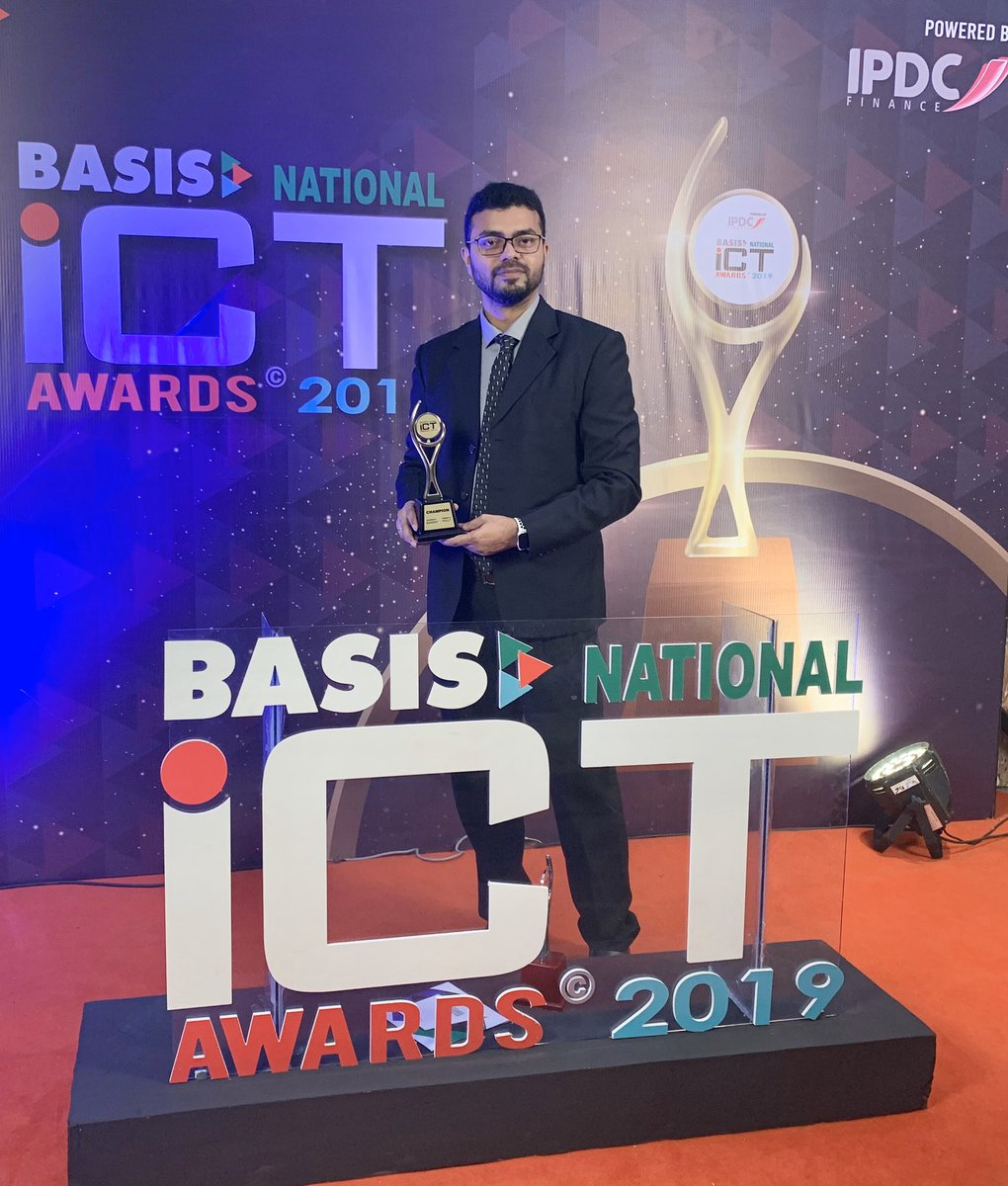 """test Twitter Media - https://t.co/bVCVp42yQn became Champion as """"Startup Of The Year"""", Cross Category: HR Solution in BASIS National ICT Awards 2019 ! We will be representing Bangladesh in #APICTA 2019 at Vietnam! Our @NotificationX_ also won as the 1st Runner-up in Marketing Solution Category! https://t.co/yOJ2tcRWlO"""