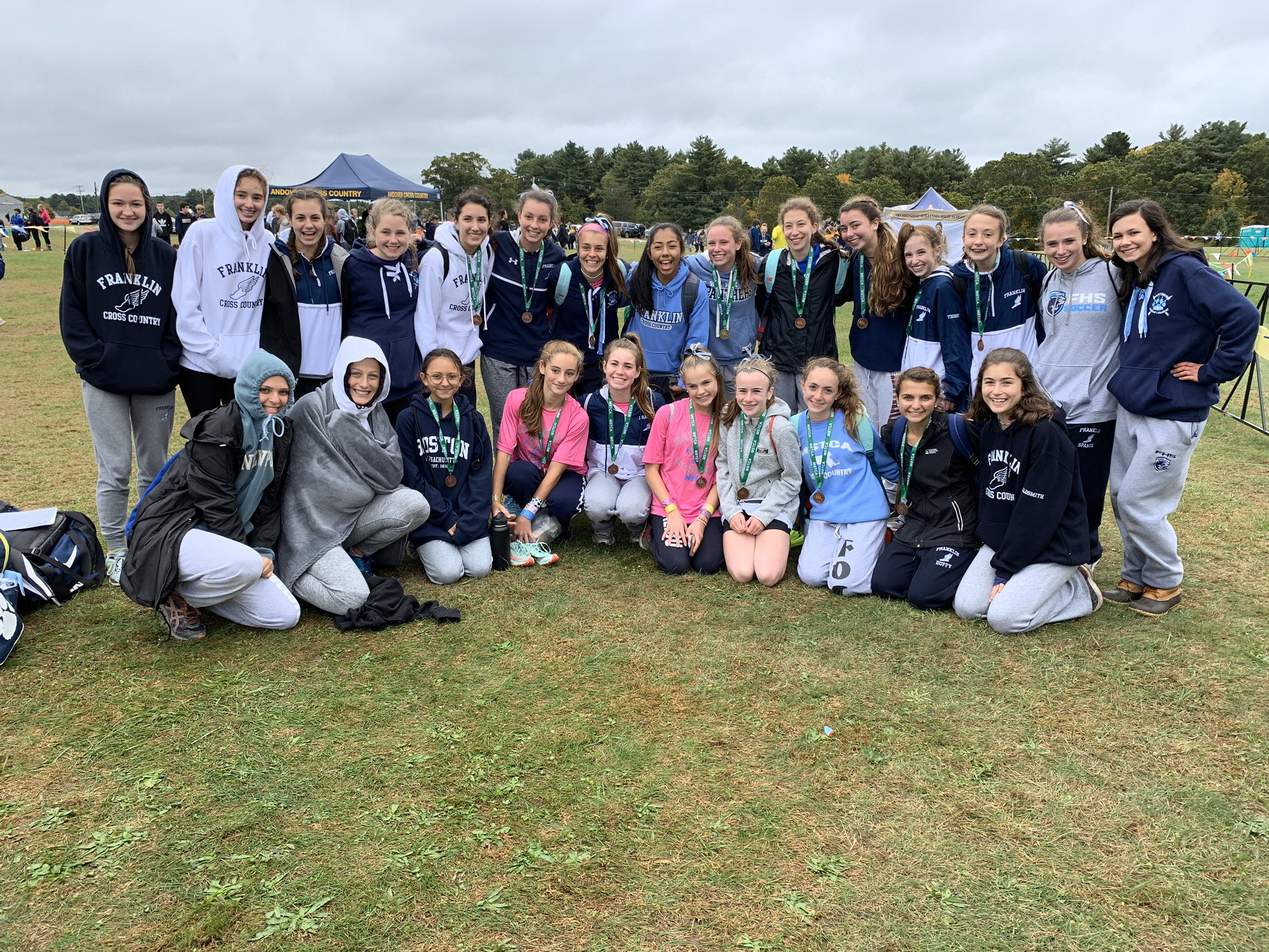 relay cross country meet 10/12/19