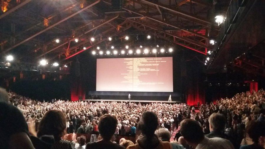 standing ovation La belle époque