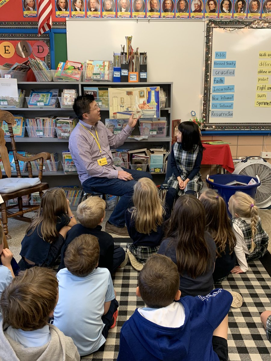 Mystery Readers are always a goo way to end the school week.