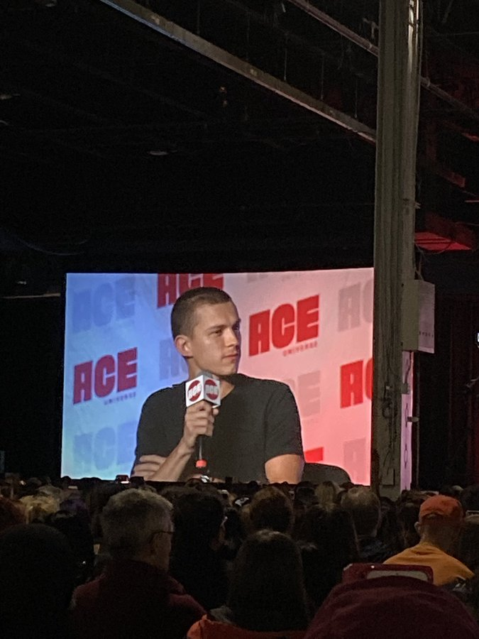 Tom Holland says he didn't know Nick Fury was a Skrull until he saw 'Far From Home.'. #ACEComicCon