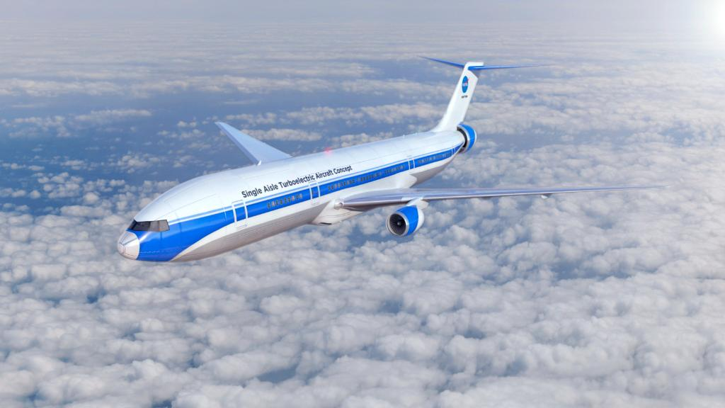 Sure, electrified aircraft propulsion could be a fuel- and- cost-efficient alternative to traditional jet engine-powered airplane, but how would it work? 🤔go.nasa.gov/2ooOTHn