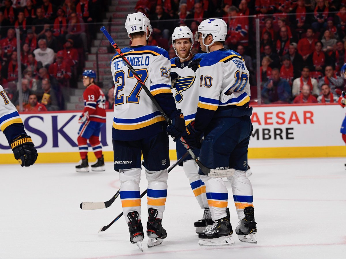 Brayden Schenn's four-game goal streak has tied a career high for the fourth time. #stlblues