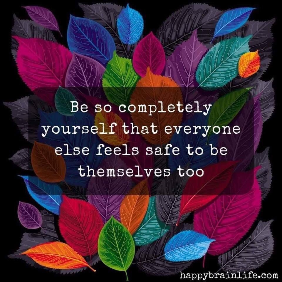 Be so completely YOU. ❤️ #JoyfulLeaders