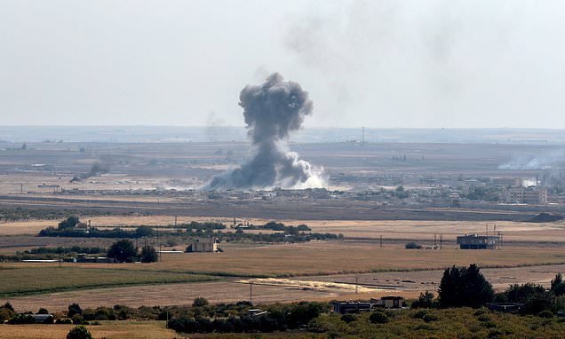 Turkish military incursion in Syria is giving jihadists a chance to regroup - Top Tweets Photo