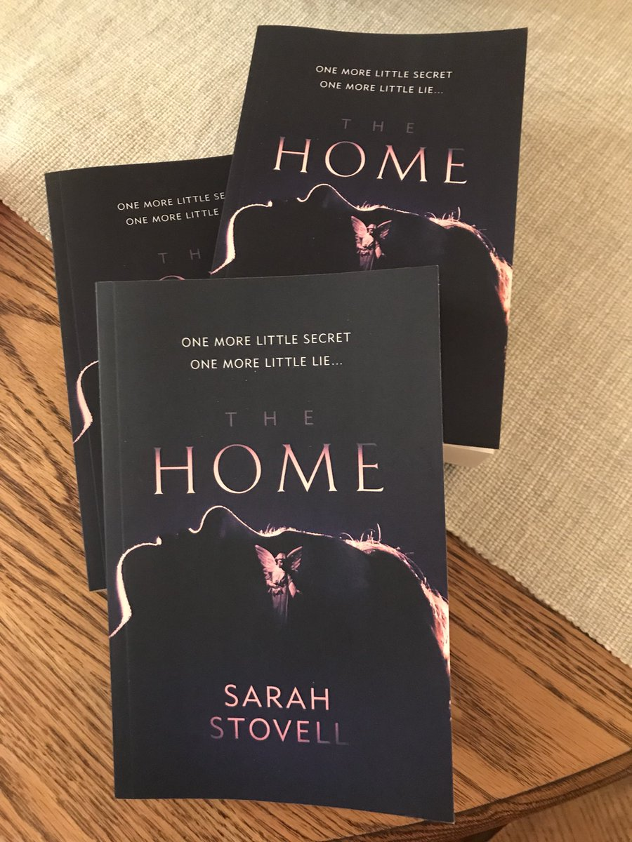 These beauties came in just as I was packing and are now in #Frankfurt !! Look!! proofs of @sarahlovescrime's MESMERISING new #PsychologicalThriller #TheHome!! <br>http://pic.twitter.com/iRpqAJDaC9