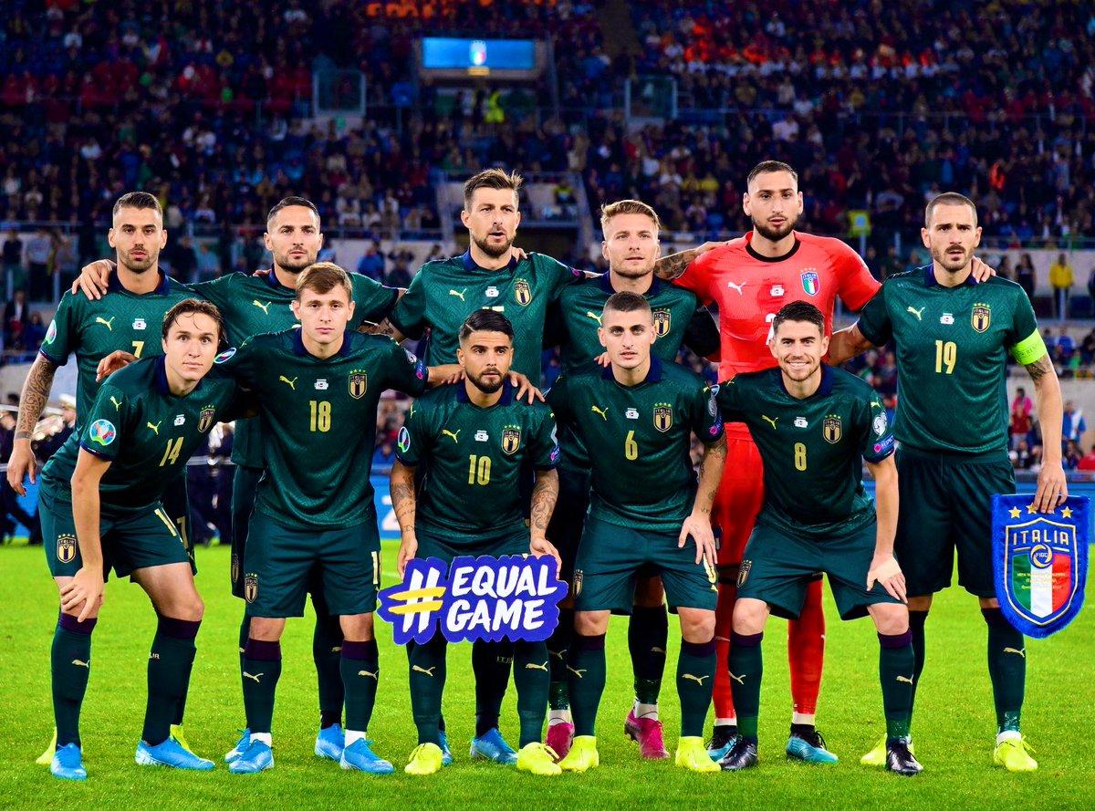 Adriano Del Monte on Twitter: »✓ ITALY QUALIFY FOR EURO 2020! After the  darkest period in Italian football history, the Azzurri secure  qualification, and in record time! Bravo @robymancio 👏👏👏 #ForzaItalia  🇮🇹…
