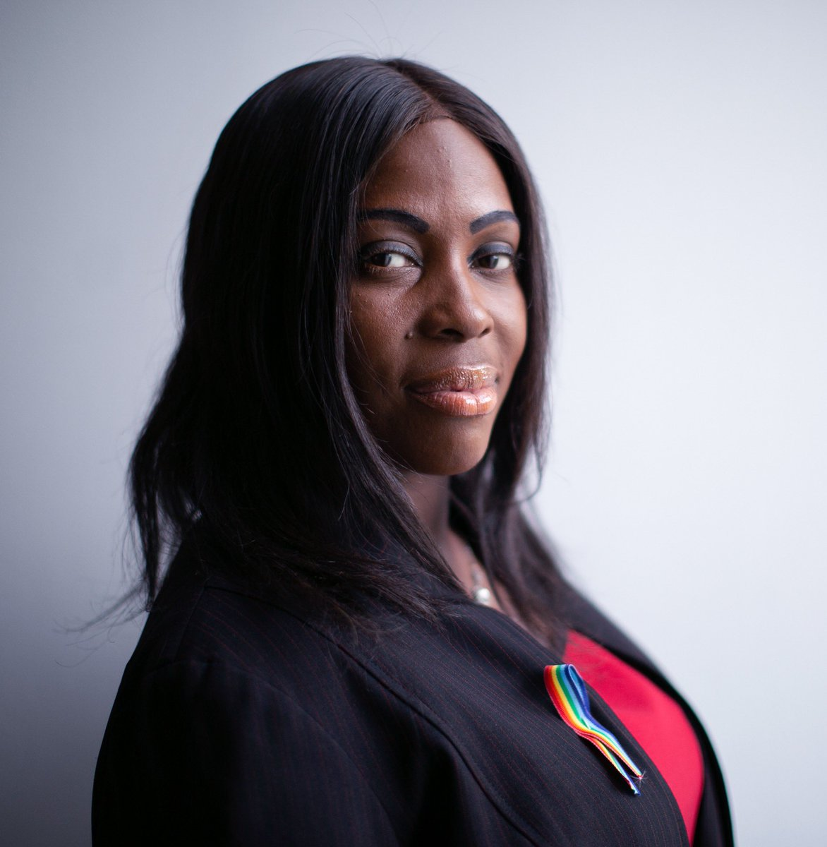 Portrait of Council Member @Vanessalgibson after hosting an event at the @BronxMuseum to celebrate #NationalComingOutDay #NCOD #Bronx