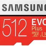 Image for the Tweet beginning: Samsung EVO Plus 512 GB