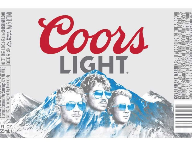 Jonas Brothers to be plastered on Coors Light bottles: Marketer's Brief ow.ly/dnPE50wGRE1