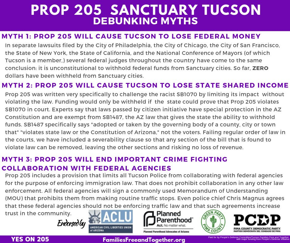 Why we say #Yeson205 is simple. We need policies that eliminate the fear of deportation and allow equal opportunity to thrive in community. Fear of deportation and discrimination exists for many in the immigrant community and can keep them from seeking the care they need.