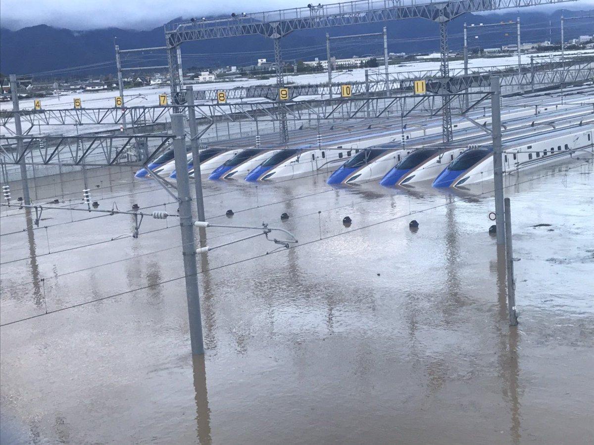 長野県新幹線の車両基地あかんなこれ…