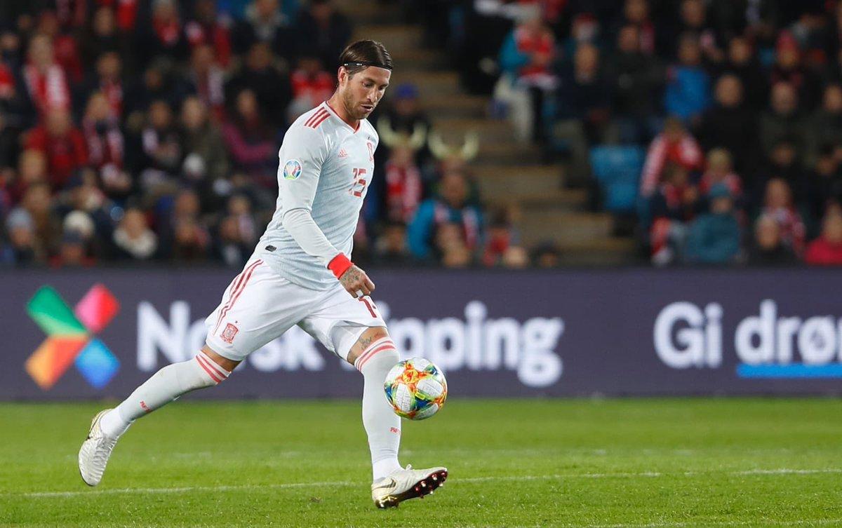 Ramos fait tomber le record de sélection avec l'Espagne