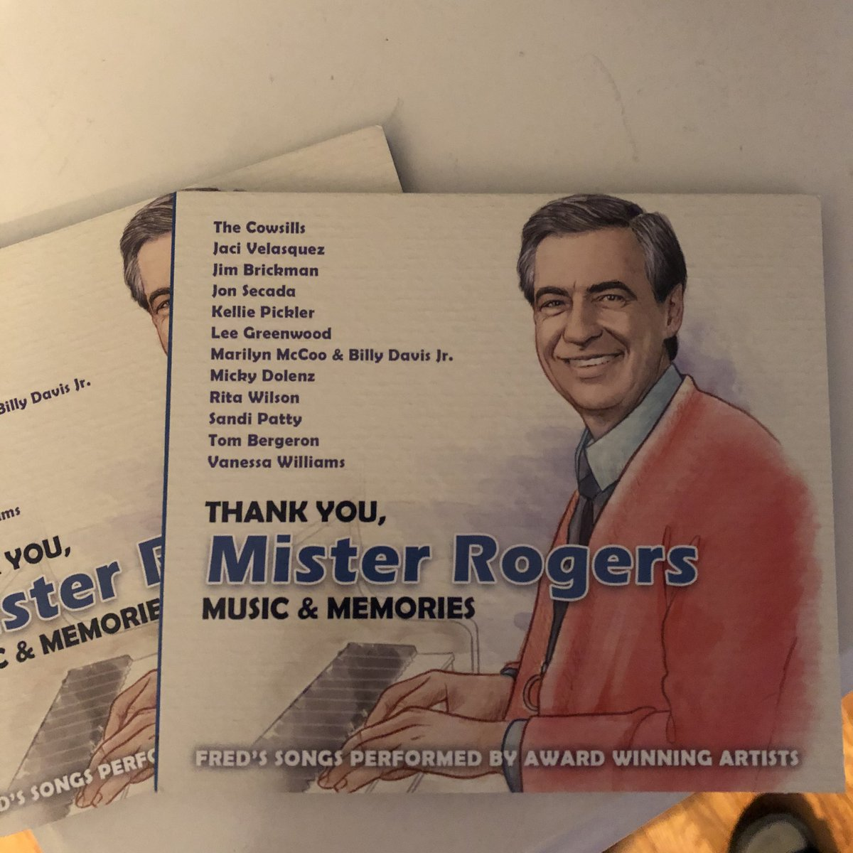 What a great album. My copies just arrived. #Thankyoumisterrogers