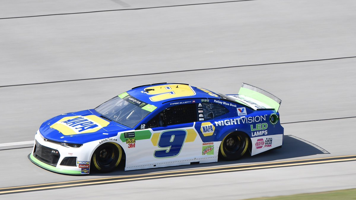 Today's qualifying effort @TalladegaSuperS marks the seventh time Hendrick Motorsports has swept the front-row for qualifying at the track and the second time taking the top-four positions.