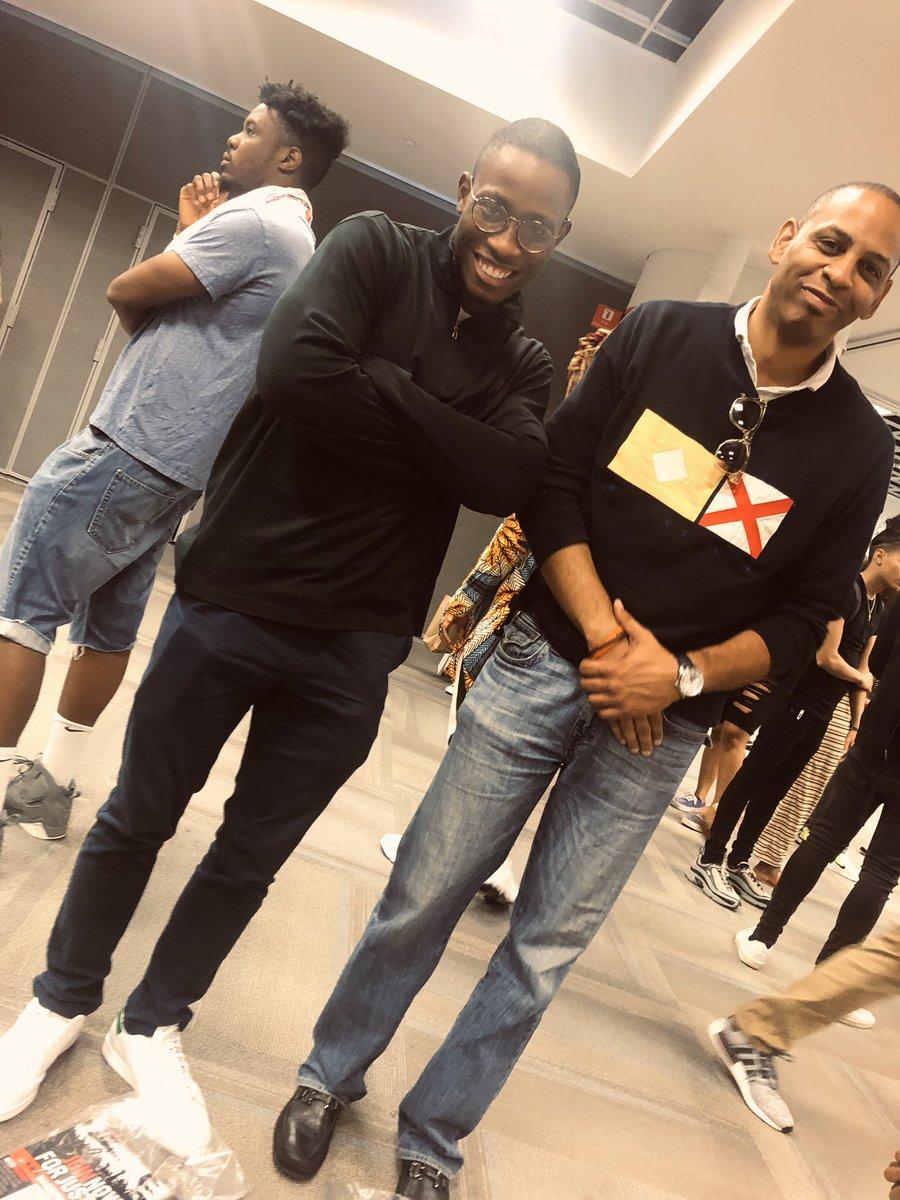 With my @foundergym bro @1Sanmi at @A3C