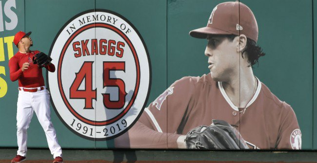 Report: Angels knew of Tyler Skaggs drug use long before his death - Top Tweets Photo
