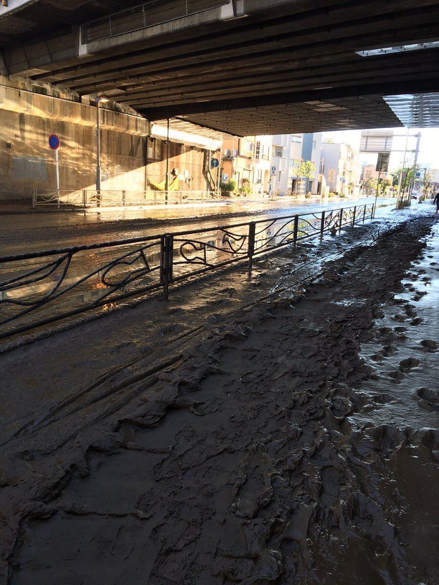 台風】逆流下水は糞尿混じり\u2026武蔵小杉タワマン台風19号浸水被害