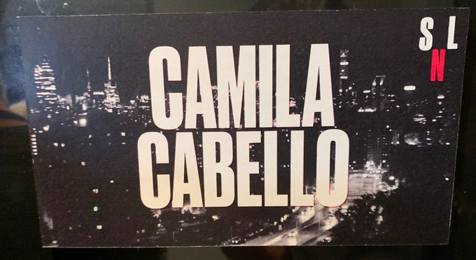 #CamilaOnSNL Foto