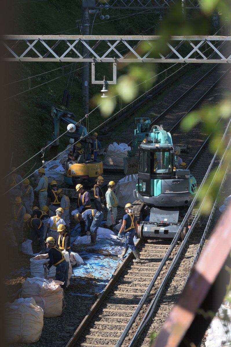 台風】京王 動物園線は当面運休、高尾線は14日中に復旧めざす_