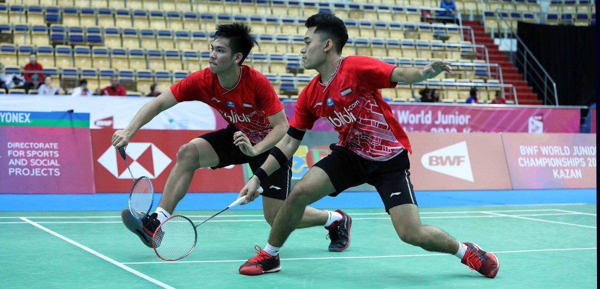 (World Junior Championships 2019) Tiga Wakil Lolos ke Final  https:// m.badmintonindonesia.org/app/informatio n/newsDetail.aspx?/8546  … <br>http://pic.twitter.com/m6jo0k8hEf
