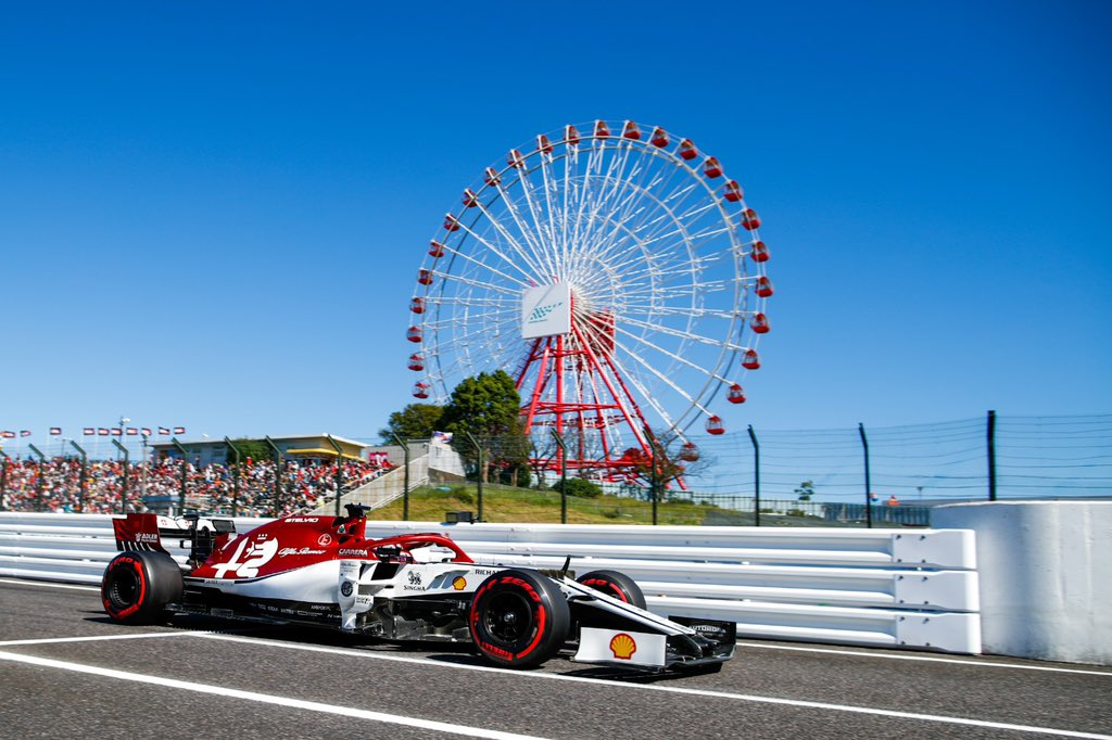 End of the road for our boys 🏁 But not for today, we will be racing in just a few hours! 🏎  Qualy:  GIO 👉🏻 P11 RAI 👉🏻 P13  #JapaneseGP