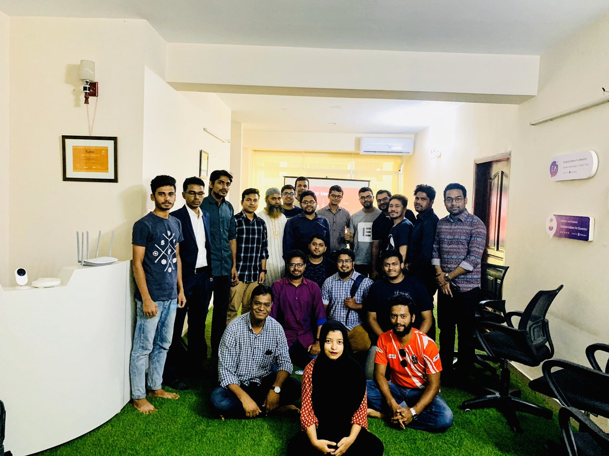 test Twitter Media - We had fun gathering at 4th @elemntor Dhaka Meetup at @WPDevTeam Office! We spoke and shared our experience about Templating in Elementor! #ElementorMeetups #Elementor #Dhaka #Bangladesh #WordPress https://t.co/iJbeiaH7Sh