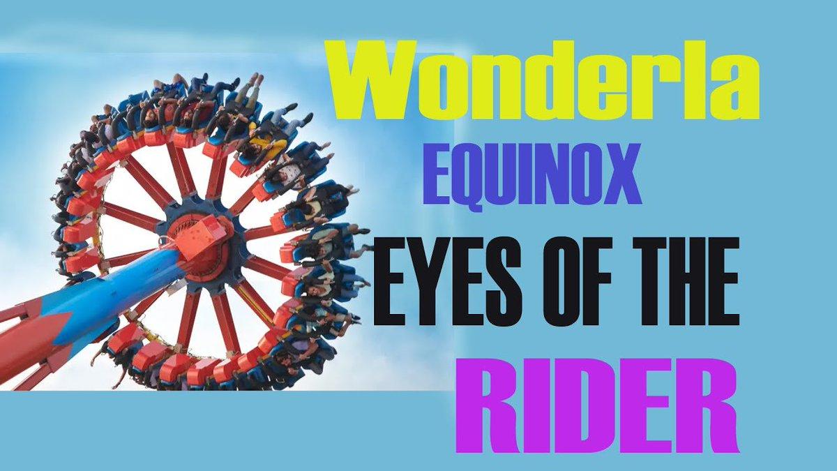 @Wonder_La @ThemePark_info @ThemePark @arunpally #wonderla #Equinox Video : https://youtu.be/iEkIcbZiGlM