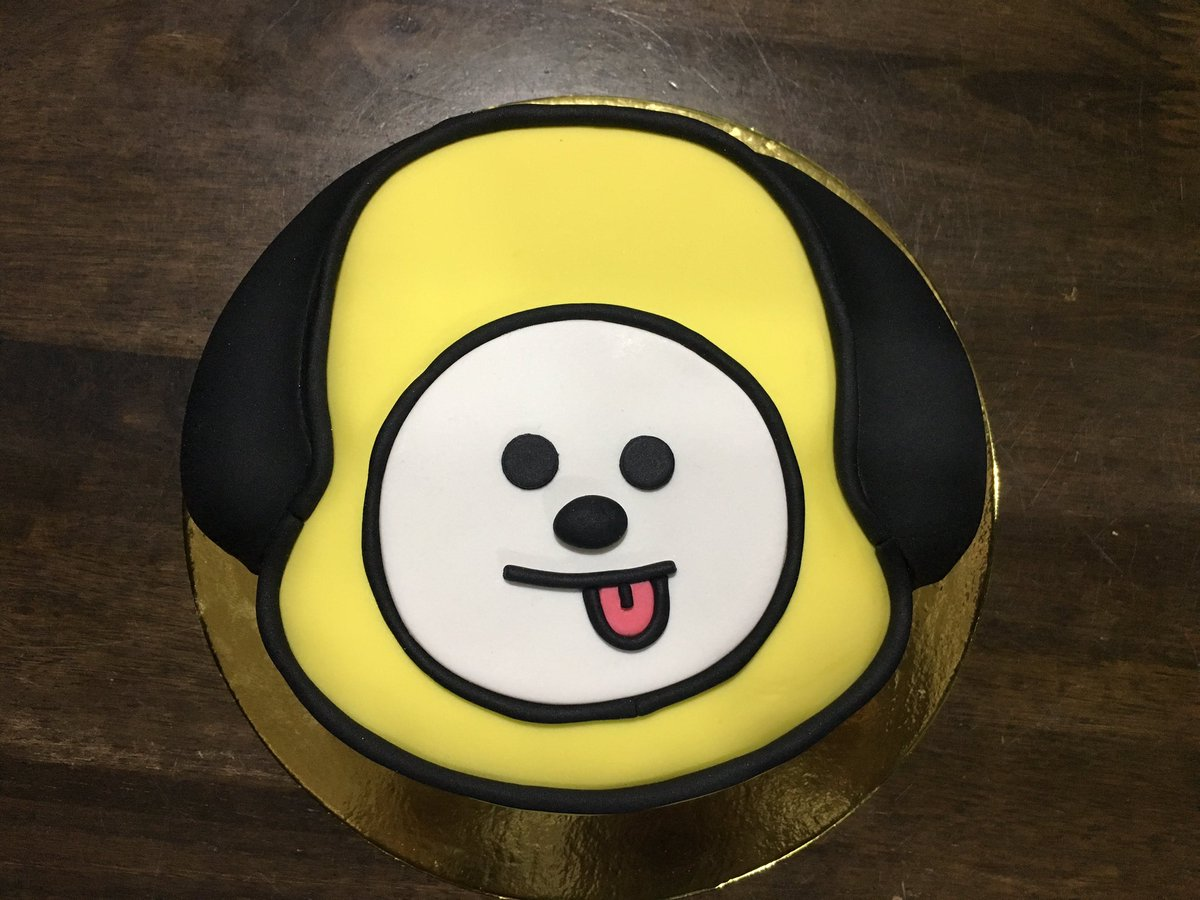 Awesome Chimmy Bts Cake wallpapers to download for free greenvirals