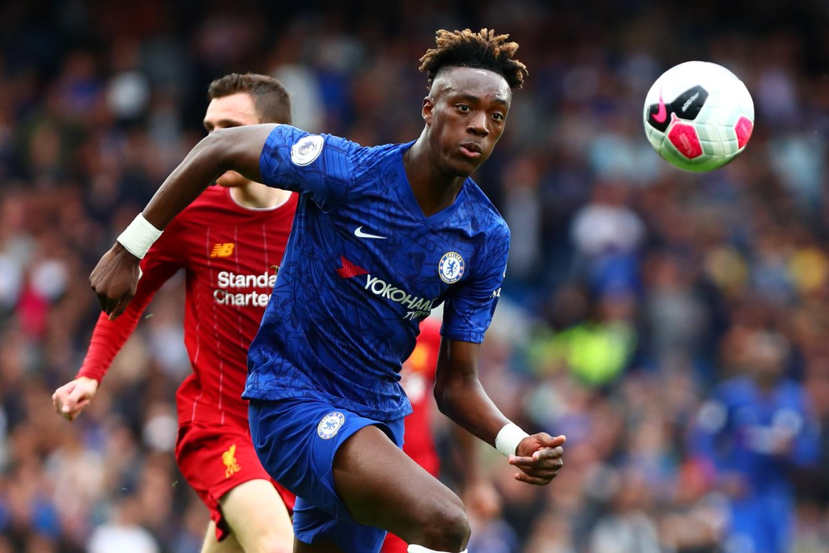 Positioning 📍 Movement ⚡️ Finishing 🔥 Why @tammyabraham is making all the difference for @ChelseaFC ➡️ preml.ge/CoAacu