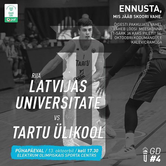 test Twitter Media - Nüüdsest hakkab kehtima uus reegel - #PühapäevOnMängupäev. Täna kell 17.30 läheme Riias vastamisi LU basketbols meeskonnaga. Kui ise Riiga ei saa või taha minna, siis kõikide eelduste kohtaselt näeb mängu ka Paf Latvian-Estonian Basketball League Youtube… https://t.co/9Cy4GXehGb https://t.co/iUVROaPqzU