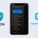 Image for the Tweet beginning: CryptoBonusMiles mobile application with $ARN