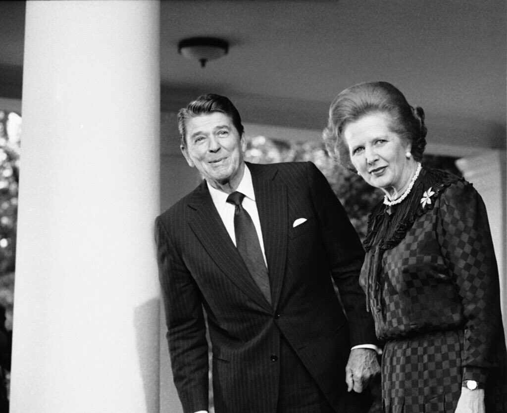 One of THE great champions of the #SpecialRelationship 🇺🇸🇬🇧. Margaret Thatcher, born on this day in 1925!